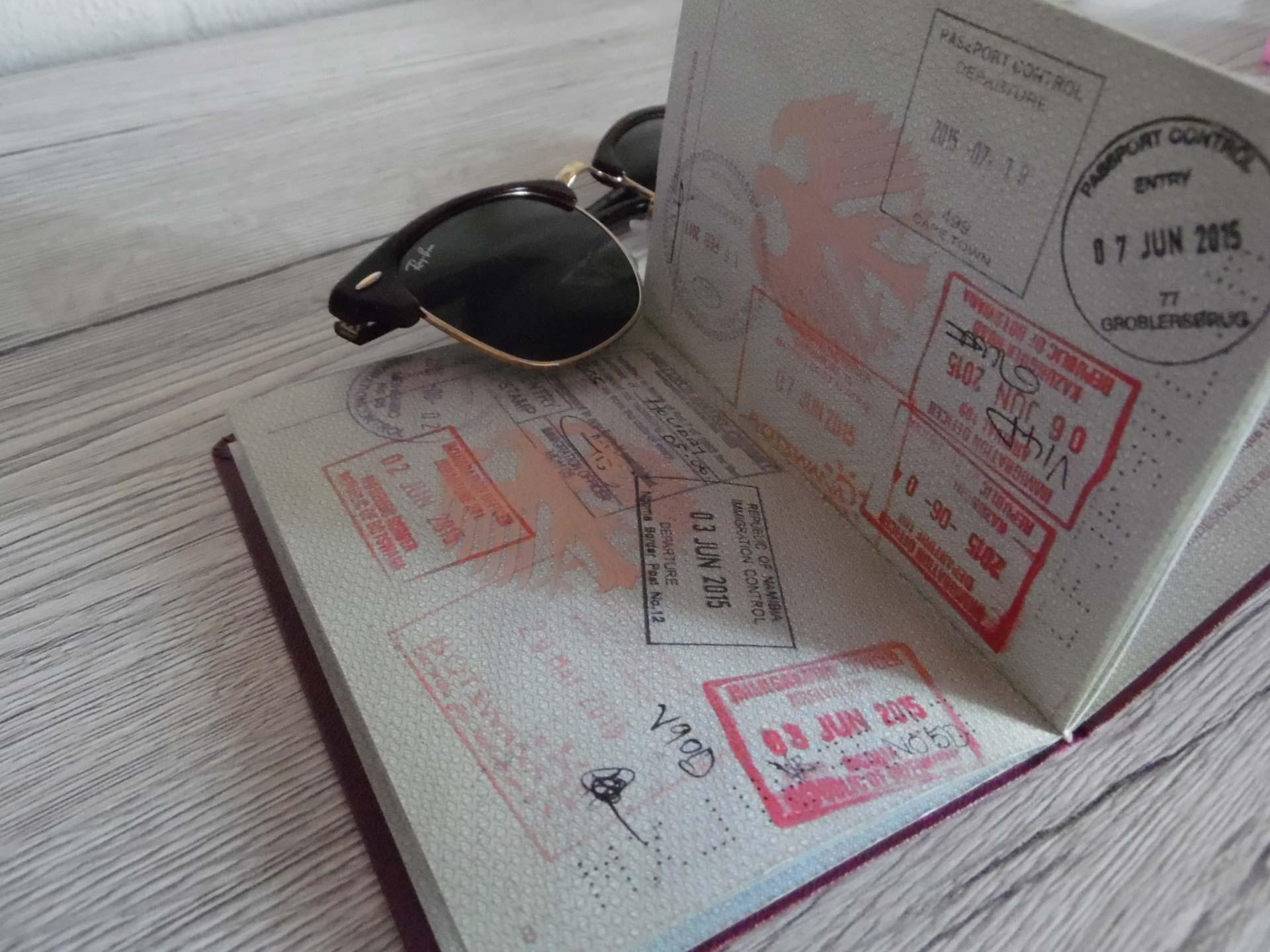 Reiseinformationen Einreise Visum Reisepass Afrika