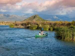 Familienurlaub Südafrika Kinder Babylonstoren Kanufahren Du Toitskloof Berge