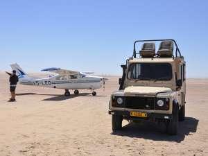 Anreise Reiseinformationen Flugrundreise Afrika Flugzeug Geländewagen Charterflug Wilderness Air