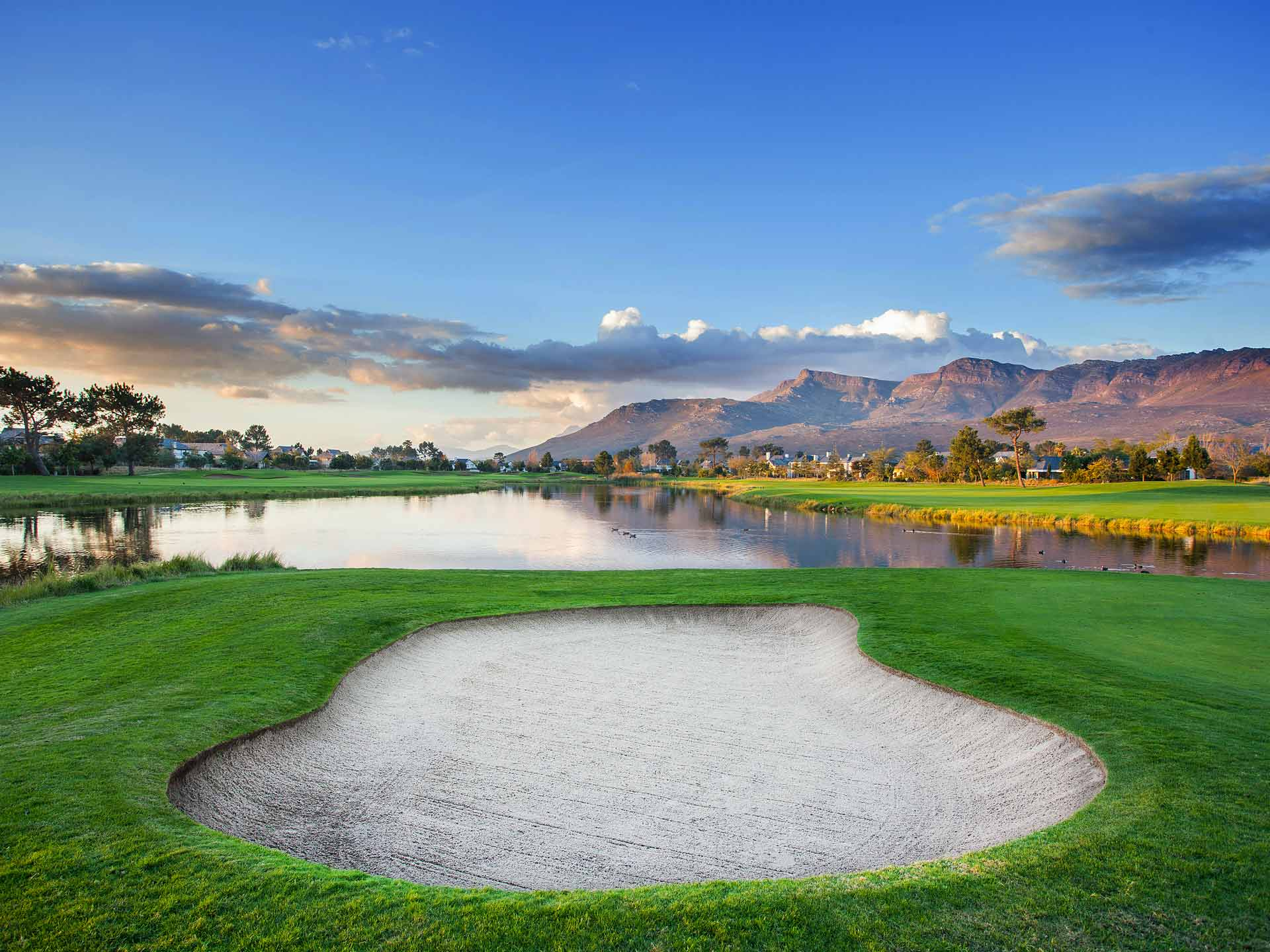 Golf Südafrika Pearl Valley Winelands
