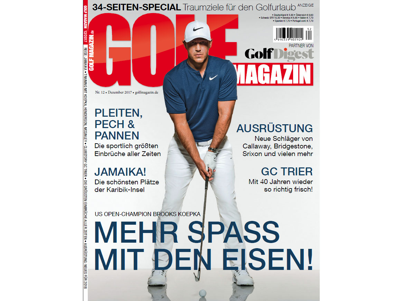 Reisespecial Golfmagazin November 2017