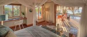 Mosambik Azura Benguerra Royal Beach Villa SChlafzimmer