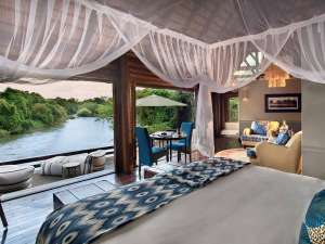 Royal Chundu Island Lodge Zambezi Fluss