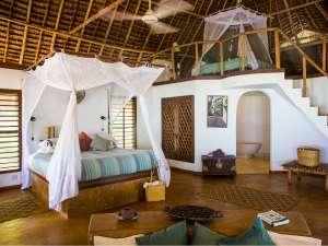 Sansibar Urlaub Matemwe Lodge Bungalow Strand