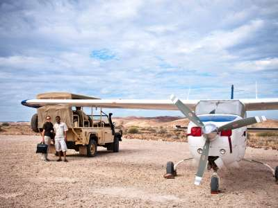 Wilderness Air Damaraland Camp Namibia Flugrundreise Fly-In Traumroute